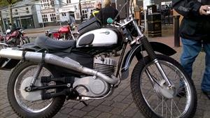 Harry's rather special 1975 ISDT model 250cc MZ. About 25 were imported to the UK and he has owned four of them!